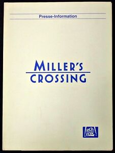 Miller-039-s-Crossing-Film-Presseheft-Y-7403