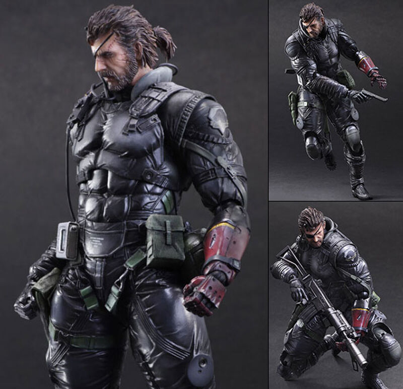 Square Enix PLAY ARTS KAI Metal Gear Solid V Venom Snake Sneaking Suit Genuine