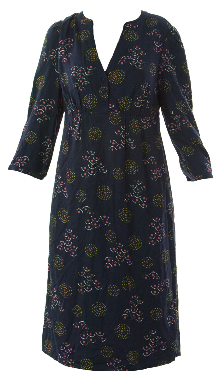 Boden Damen Marineblau Martha Kleid Wh376 Us Sz 4L