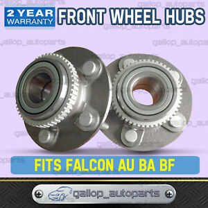2x-Front-Wheel-Bearing-Hub-Assembly-for-Ford-Falcon-AU-BA-BF-Fairmont-Territory