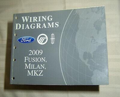 2009 Ford Fusion Mercury Milan Lincoln MKZ Wiring Diagrams ...