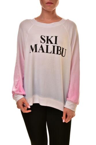 S € Wsv542 Ski Pull Rrp 55v 150 Femmes Wildfox Bcf89 Malibu Multi Sommer qw4aq8A