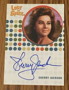 Complete-Lost-In-Space-SHERRY-JACKSON-as-Effra-Autograph-AUTO-Card-Rittenhouse
