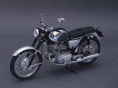 1/10 Ebbro Honda Cb72 1960-nero/argento - 1/12 - 10013 - 142048- Medulla Benefico A Essenziale