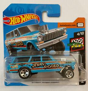 2020-Hotwheels-1964-64-Chevy-Nova-Wagon-Gasser-Perfeito-Moc