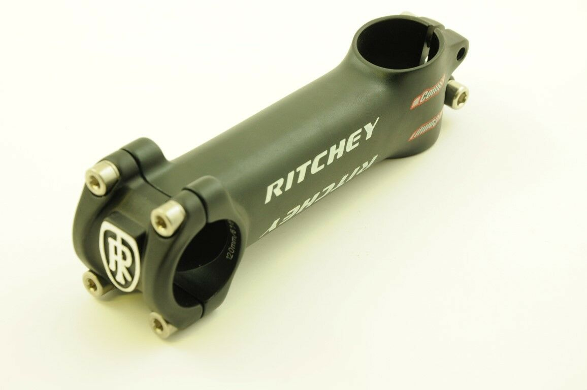 RITCHEY COMP ALLOY AHEAD BIKE HANDLEBAR STEM 4 BOLT 1 1 8  120mm REACH 31.8mm