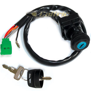 ignition key switch suzuki ltf160 quad runner ltf 160 ltf 160 1991 rh ebay com