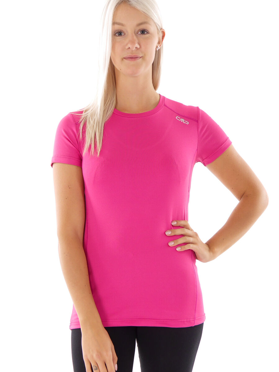 CMP Running Functional Shirt  Leisure Top Pink Stretch Dryfunction  manufacturers direct supply