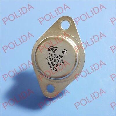 10PCS Adjustable Regulators IC NSC TO-3 LM338K LM338K-STEEL LM338K-STEEL//NOPB