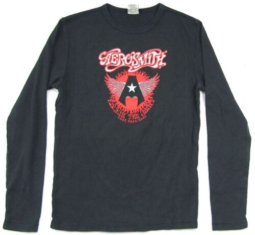 Aerosmith Rocking The Joint 2005 2006 Tour Black Long Sleeve Shirt New Official