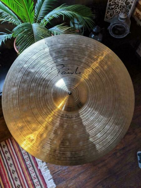 paiste signature 20 full ride cymbal for sale online ebay. Black Bedroom Furniture Sets. Home Design Ideas