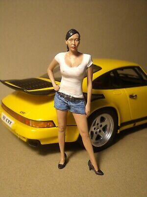 Figur girl aus resin handbemalt 1:18 1:24 D7A-5129