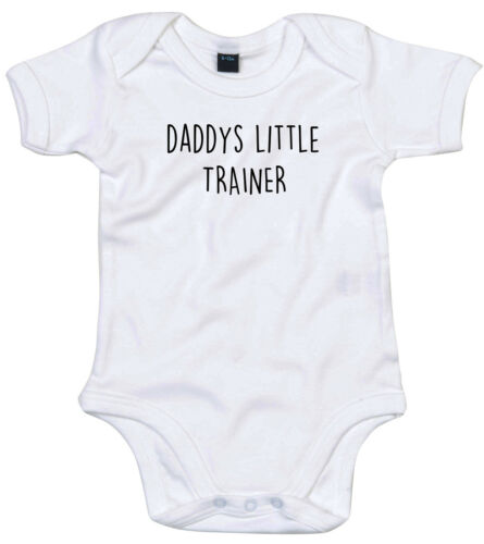 Traje Entrenador De Cuerpo Regalo Personalizado Papi está pequeño bebé crezca