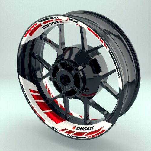 Adesivo Cerchio Adesivo per Pneumatici Moto Grid2 \