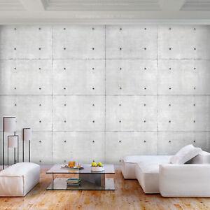 Das Bild Wird Geladen VLIES FOTOTAPETE Steinwand Grau Beton Optik TAPETE  Wohnzimmer