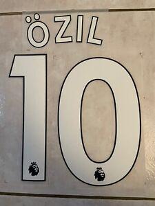 Flocage Nameset Ozil #10 Arsenal 2019-2020 Home Domicile