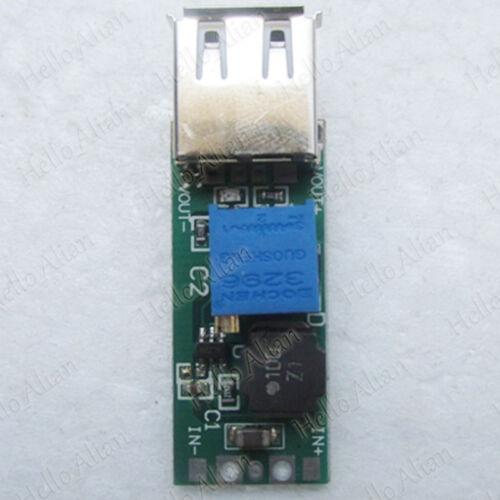 DC-DC Converter USB Step Up Boost Module 3.3v 3.7v 4.2v to 5v 12v Charger Module