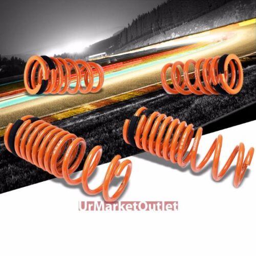 Orange 26mm Drop Megan Racing Lowering Spring Coil Kit For 09-15 Nissan GT-R R35