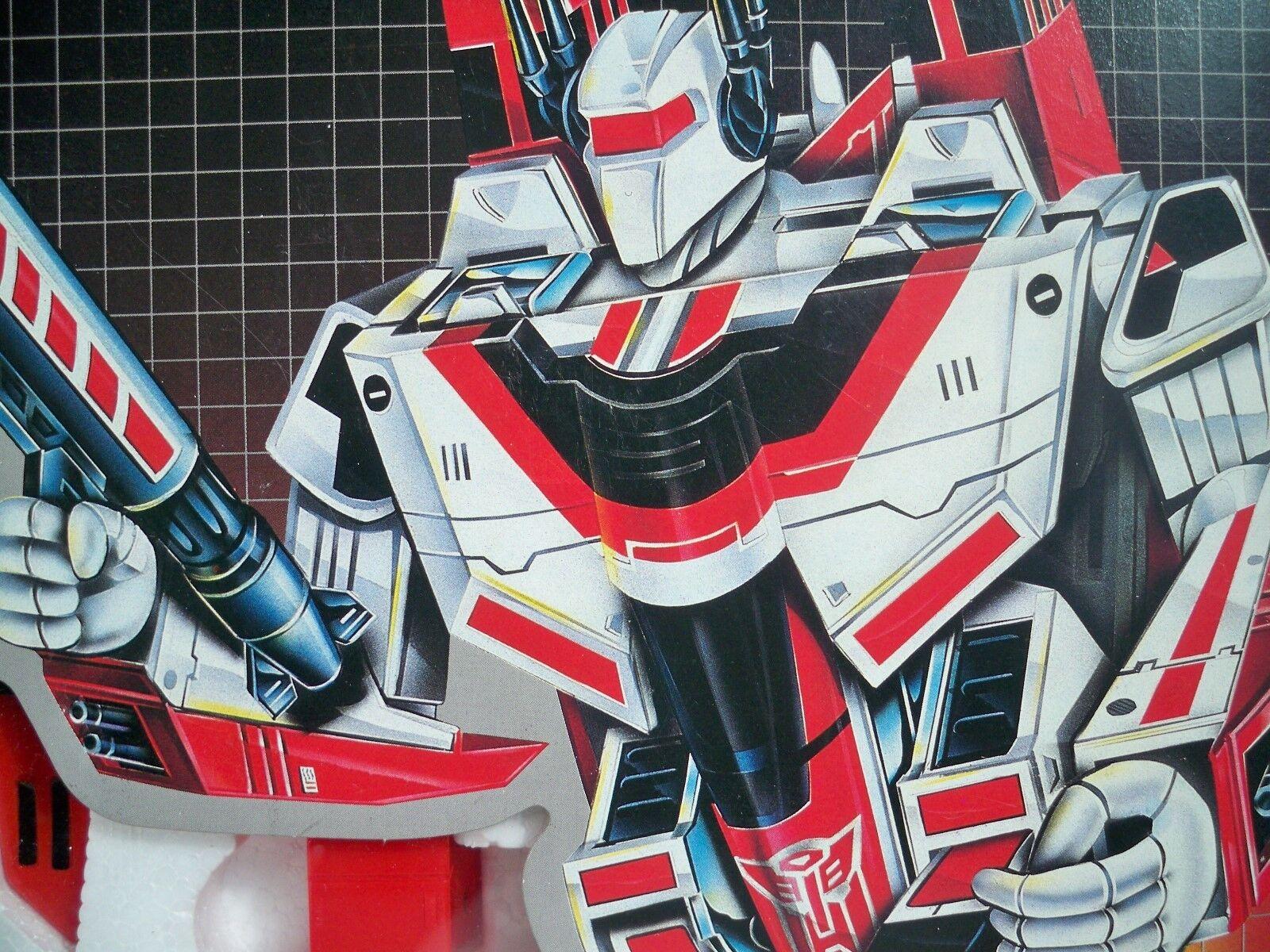 K1600813 Jetfire 100% completo nella casella Nuovo di zecca con scatola stile Transformers G1 ORIGINALE