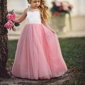 Soirée Tulle Fille Enfant Jupe Duveteux Mariage Princesse Mode Sur Costume Robe Fête Détails HfyzWq