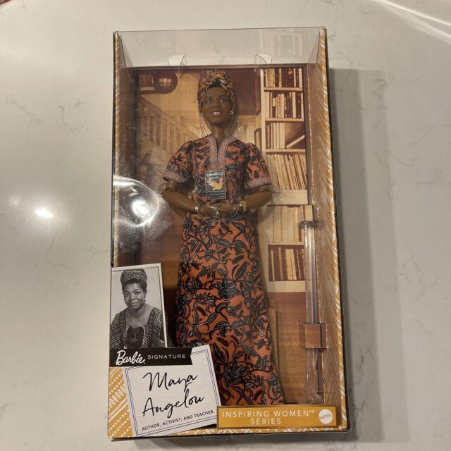 Maya Angelou Barbie Signature Inspiring Women Series Collector Doll 12in