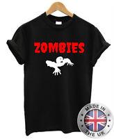 Zombies T Shirt S-XXL Mens Womens Undead Horror Walking Dead