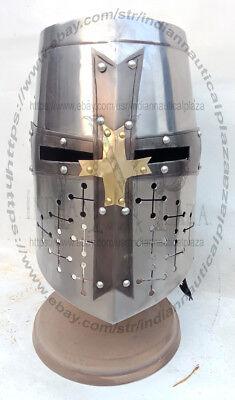 templar knight crusader helmet armour for Sca Larp