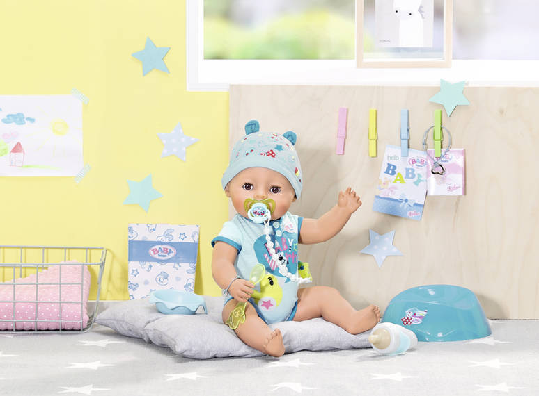 Zapf Creation 824375 - Baby Born - Soft Touch Boy Puppe