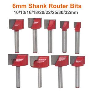 10mm-32mm-T-Nutfraeser-6mm-Schaft-Oberfraeser-Nutenfraeser-Holzfraeser-Nuter-Fraeser