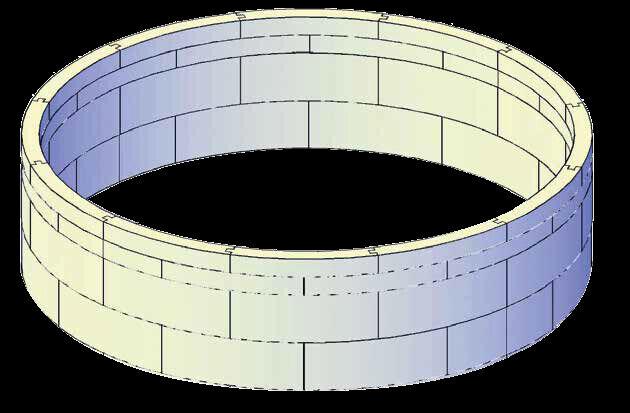 Pool Isolation Druckschutz Wärmeschutz 5m rund schmaler Handlauf 104cm hoch
