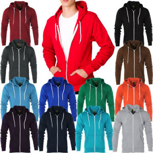 Mens-Raiken-Apparel-Flex-Fleece-Hoody-Hooded-Sweatshirt-Top-Size