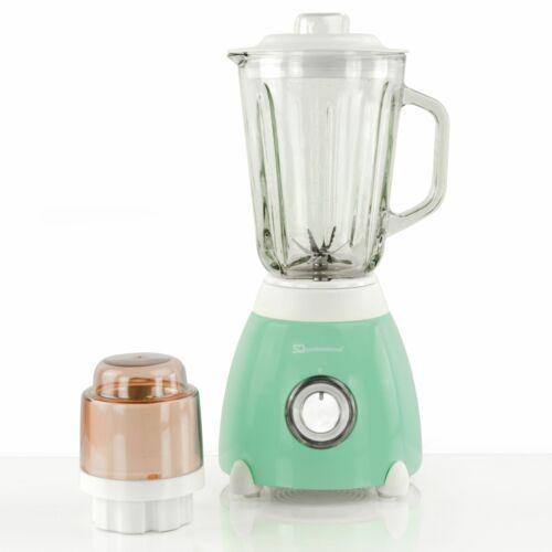 Dainty 500 W Blender avec Verre 1.5 L Pot /& meuleuse-Vert menthe