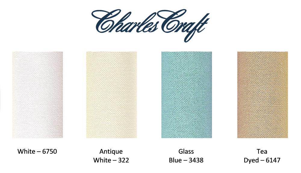 "10/"" x 14/"" Binca 6ct Evenweave Fabric 25cm x 35cm"