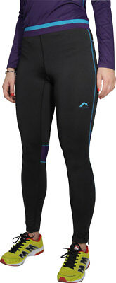 More Mile Prime Womens Long Running Tights - Black Auswahlmaterialien