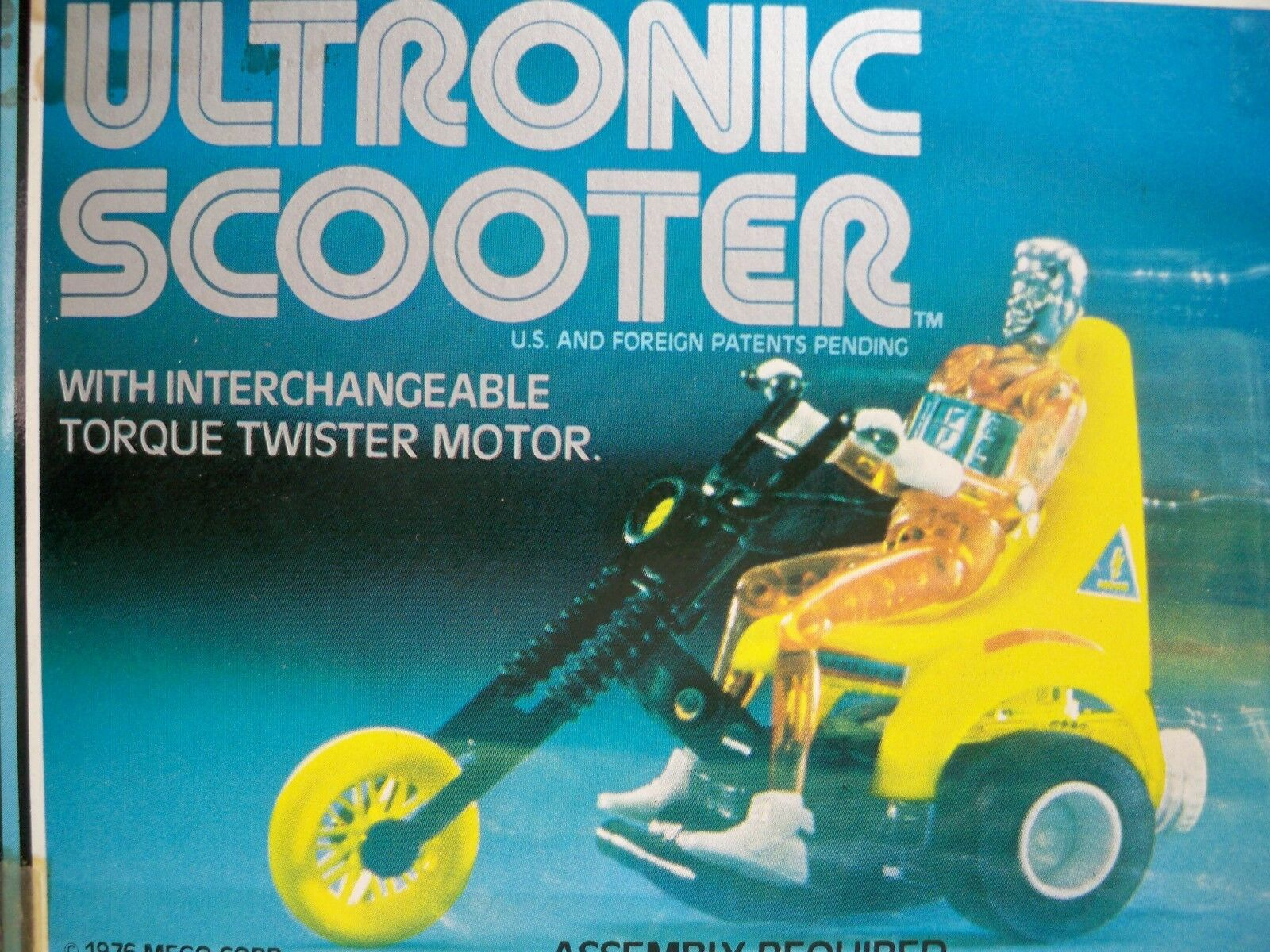 K1800812 ULTRONIC SCOOTER MIB MINT IN BOX SEALED FIGURE MICRONAUTS 1976 MEGO