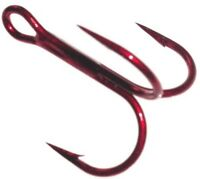 Daiichi Jimmy Houston Series 4x Strong Treble Hooks Bleeding Bait Choose Size
