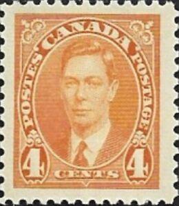 Canada-234-King-George-VI-Issue-Brand-New-1937-Pristine-Original-Gum