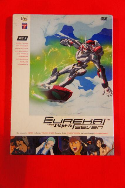 Eureka Seven volume 3 Episodi 11 à 15 DVD MANGA VOSTF VF NUOVO IMBALLATO