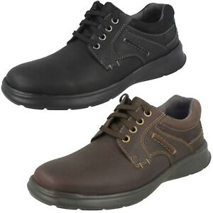 Liso Zapatos Clarks Cordones Con Hombre Cotrell 40wOwq