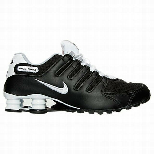 online store 48d30 2b09e Size 12 / 14 / 15 Nike Men Shox NZ SE Running Shoe 833579 002 Black White  Grey