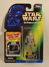 Captain Piett POTF Freeze Frame Green Card Star Wars Action Figure