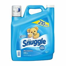 Snuggle Blue Sparkle Fabric Softener (210 Loads NEW NEW NEW