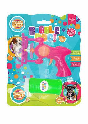 Bubble Dog toy fun interactive Bubble Blaster with Peanut Butter Bubbles