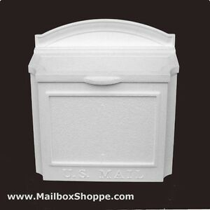 Whitehall Wall Mount Mailbox Cast Aluminum Mail Box Ebay