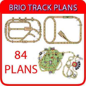 Details About Brio Track Train Wooden Train Thomas Plans 84 Layouts On Dvd Design Software