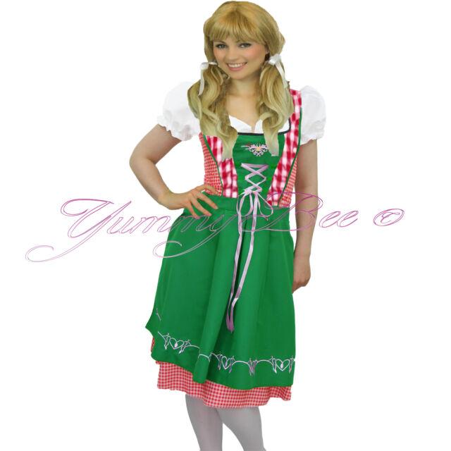 1a44294c7bb2 Yummy Bee Oktoberfest Fancy Dress Women Costume Beer Girl Heidi Plus ...
