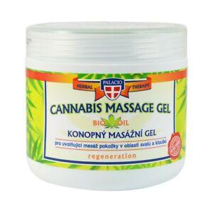 Bio Massagegel wärmendes Massage Gel Schmerzen Muskel Gelenk Hanföl Kräuter Öl