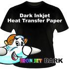 Iron on T-Shirt Heat Transfer paper for Dark Fabrics - BL-  8.5