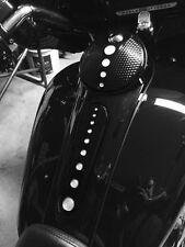 CHROME-E-O Black Dash Insert Street / Road Glide Harley  2008-2016 FLHX FLTR