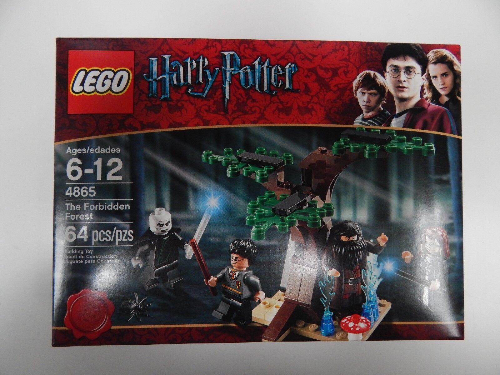 promozioni di sconto Lego HARRY POTTER 4865 THE FORBIDDEN FOREST Bre nuovo & & & Sealed  VERY RARE  connotazione di lusso low-key